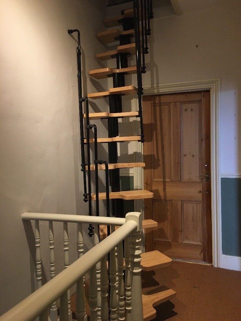 Space Saving Dolle Graz Spiral Staircase