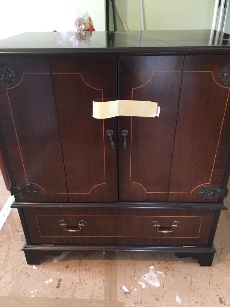 Delicieux Vintage Tv Cabinet