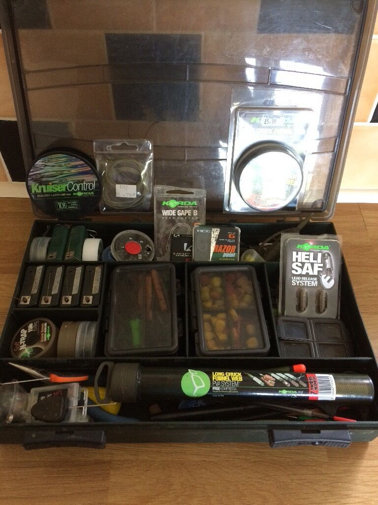 Carp fishing tackle box full of end tackle & Carp fishing tackle box full of end tackle | in Camelford ... Aboutintivar.Com