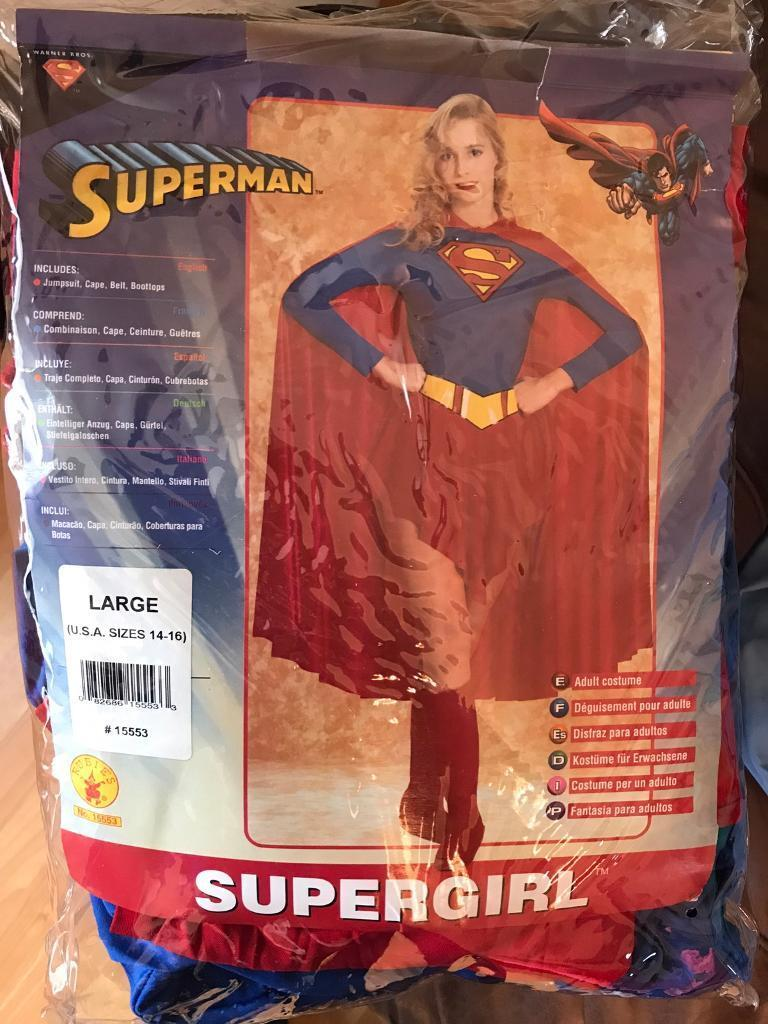 Rubies size 14-16 supergirl costume  sc 1 st  Gumtree & Rubies size 14-16 supergirl costume   in Glasgow   Gumtree