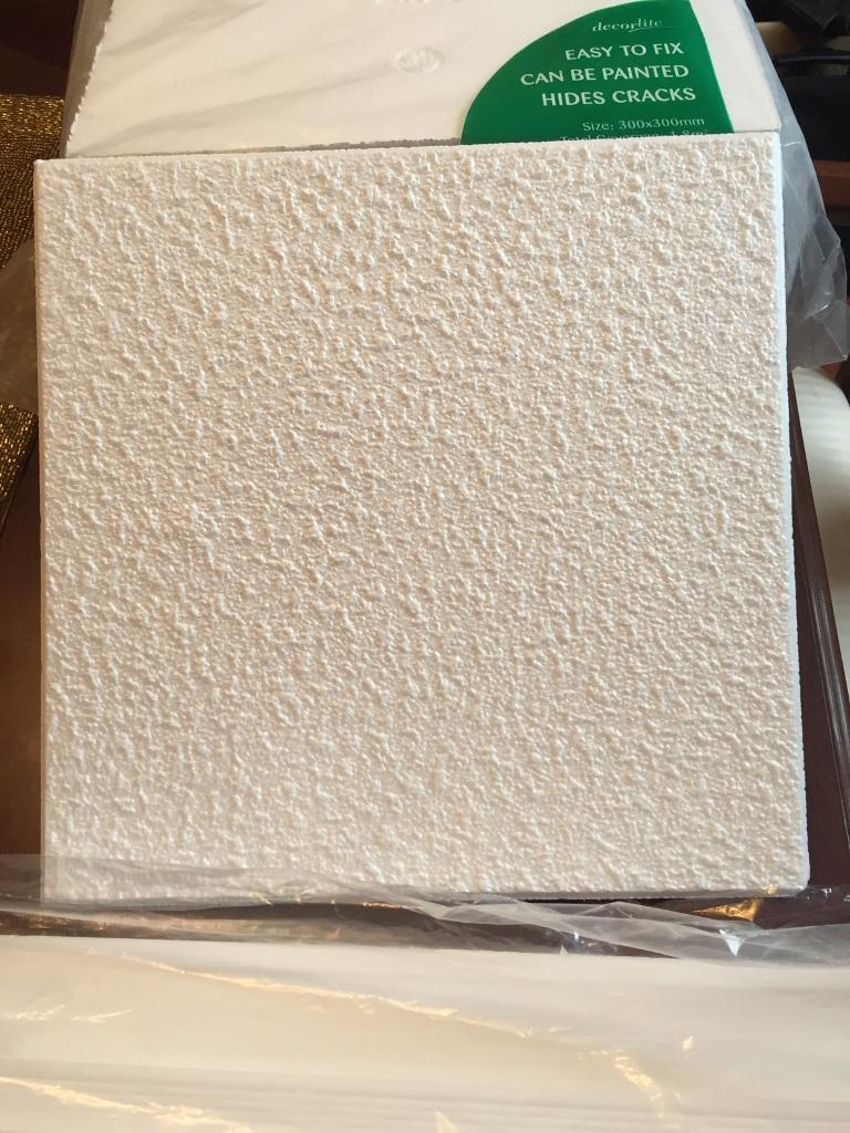 Polystyrene Ceiling Tiles And Coving.