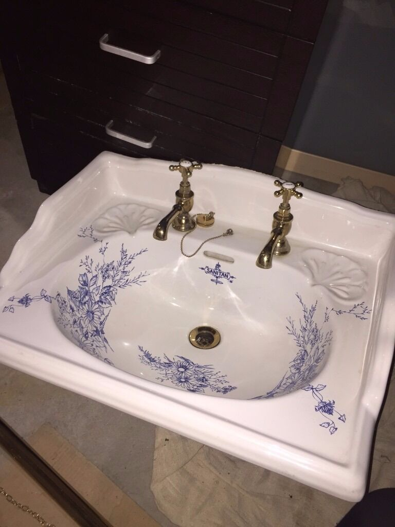 Vintage Sanitan Basin, Sanitan Cistern U0026 Toilet. Very Rare!