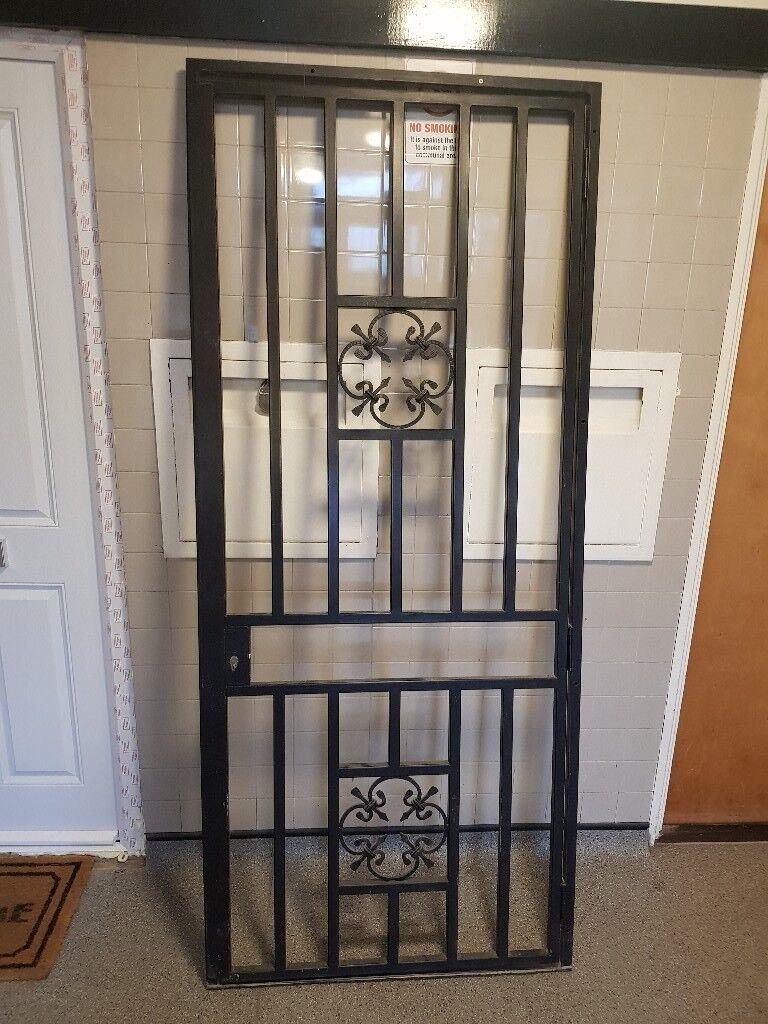 Front Door Security Gate 865mm X 2010mm