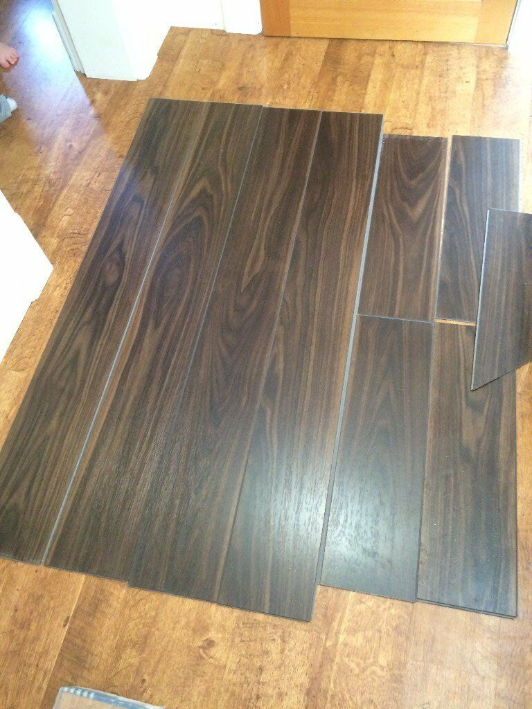 Quickstep Livyn Essential V4 ESV013 Walnut Dark Vinyl Flooring   Can Use In  Bathroom Kitchen