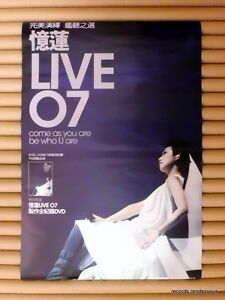 SANDY-LAM-Live-07-Promo-Poster-2007-Hong-Kong-Original-Come-as-you