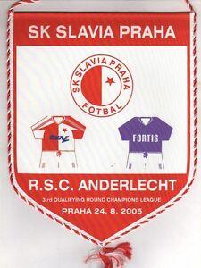 Orig-pennant-Champions-League-05-06-SLAVIA-PRAG-RSC-ANDERLECHT-RARE
