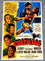 MOVIE POSTER: Crazylegs National Football League