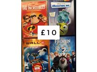Animated DVDs - Disney, DreamWorks and more
