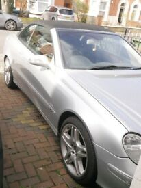MERCEDES BENZ CLK 320 SPORT AUTO / LEATHER SEATS 2003 (LATE)
