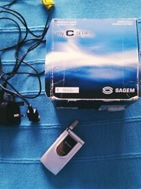 Retro Sagem Flip Phone