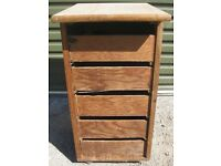 Wooden Storage Unit with Drawers Suit Tools garage or Workshop