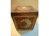 Moon Goddess Enchanted Magical Wooden Storage Box