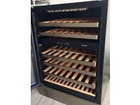 Wine Cooler under Counter Fridge - Caple Dual Zone Temperature