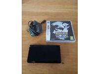 Nintendo DS lite with Pokemon Black