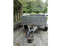 Galvanised 5 X 4 Tipper Trailer
