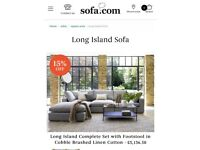 Long Island Sofa (Luxurious, Comfy and Snuggly)