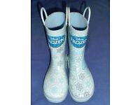 Frozen Wellington Boots / Wellies - Size 12