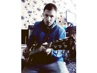 Lead guitarist/singer available for session live or recording work