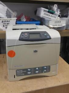 HP LaserJet 4200n Workgroup Monochrome Laser Printer.