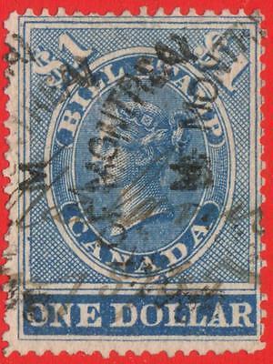 CANADA Van Dam # FB15 REVENUE $1 Blue FIRST BILL ISSUE $200 SEE PHOTOS Lot U-339