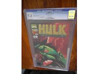 Hulk #1 Gold Foil, cgc 9.6 1999