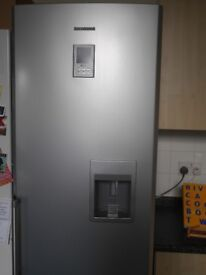 Samsung silver fridge freezer,great condition, with water cooler/dispenser