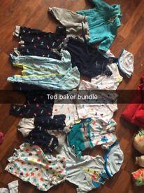 Baby boy Ted baker bundle Newborn & O-3