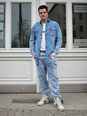 Vintage Western Wear (JEAN'S WESTERN WEAR Hemd Freizeithemd Shirt 80er TRUE VINTAGE 80s DENIM)