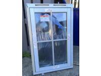 Upvc Window 670mm wide x 1035mm tall