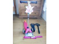 Pink Mini Micro Scooter - used but in good working order. £35 ono