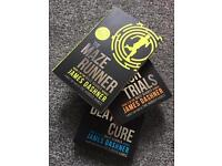 The Maze Runner trilogy - brand new