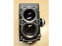 Rolleiflex 2.8f Planar twin lens reflex camera