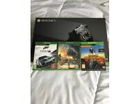 XBOX ONE X & (3 GAMES) BRAND NEW SEALED