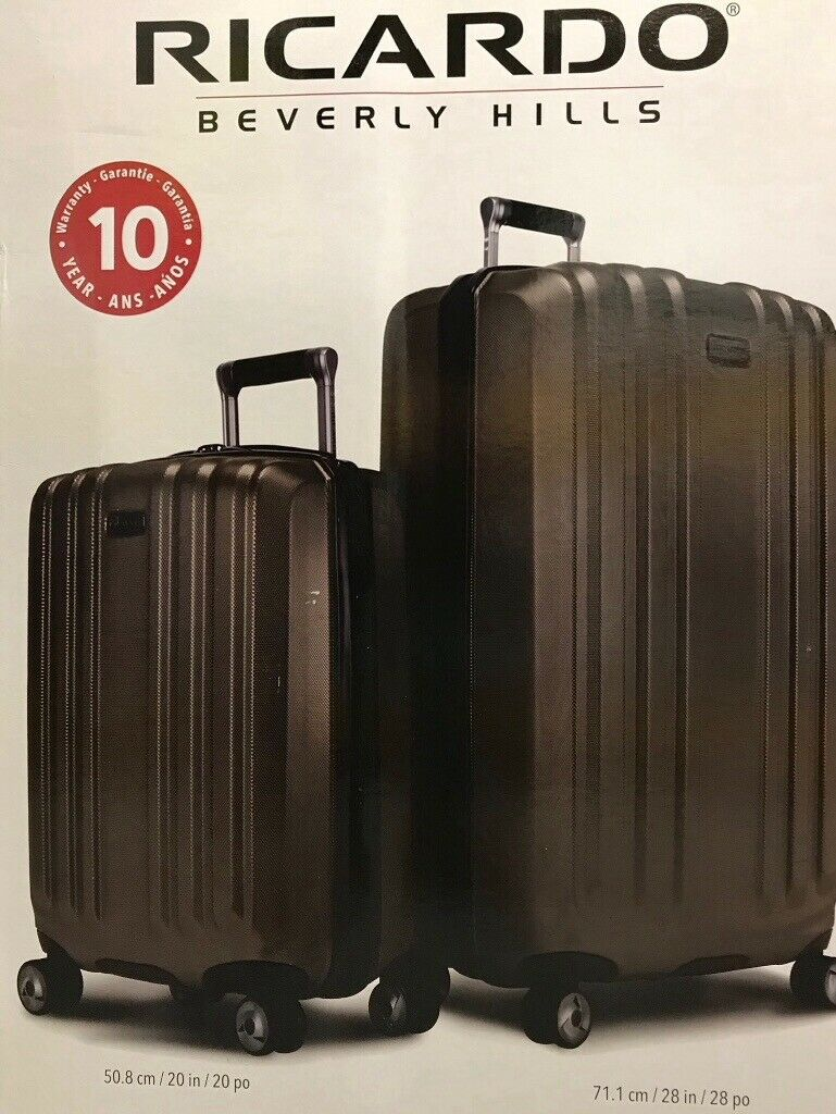 b349f7a94 Ricardo Beverly Hills Mulholland Drive 2 piece Luggage Set, Suitcase, Bag