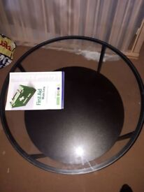 Glass top coffee table to go ASAP