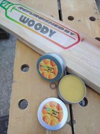 Cricket bat wax