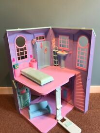 Vintage Barbie town house