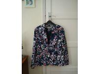 M&S floral jacket