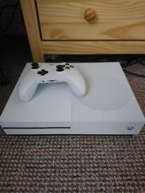 Microsoft Xbox One S Console with Controller