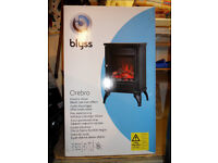 Black Freestanding Electric Stove - brand new
