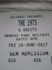 Belsonic 1975 ticket for sale