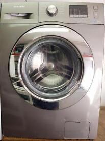 //(%)\ 8KG SAMSUNG GRAPHITE WASHING MACHINE INCLUDES 6 MONTHS GUARANTEE