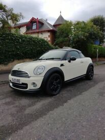 image for STUNNING 2012 Mini Cooper COUPE, MOT May-2022, 1598 (cc), 2 doors, P/X Considered