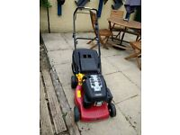 Immaculate petrol mountfield sp454 mower, used 5 times