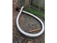 Log Burner / Stove Flue 6 Inch 6 Metres Long (USED)