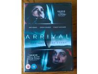 Arrival DVD, (not Blu-ray or HD). £8