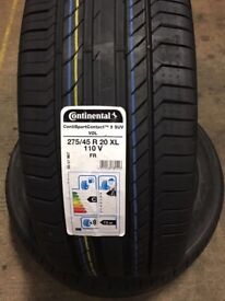 BRAND new set of continental tyres!