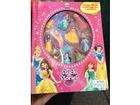 Disney princess stick on stories