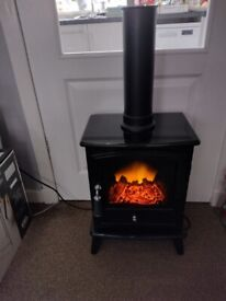 Stove style electric fire