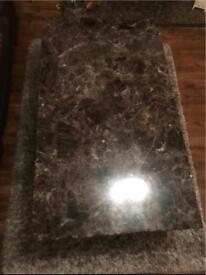 Real Granite Coffee table
